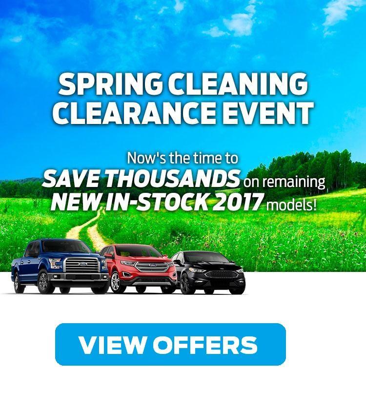 2017 Clearance Coastal Ford Burnaby