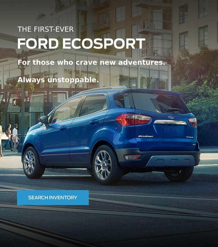 The All-New 2018 EcoSport Coastal Ford Burnaby