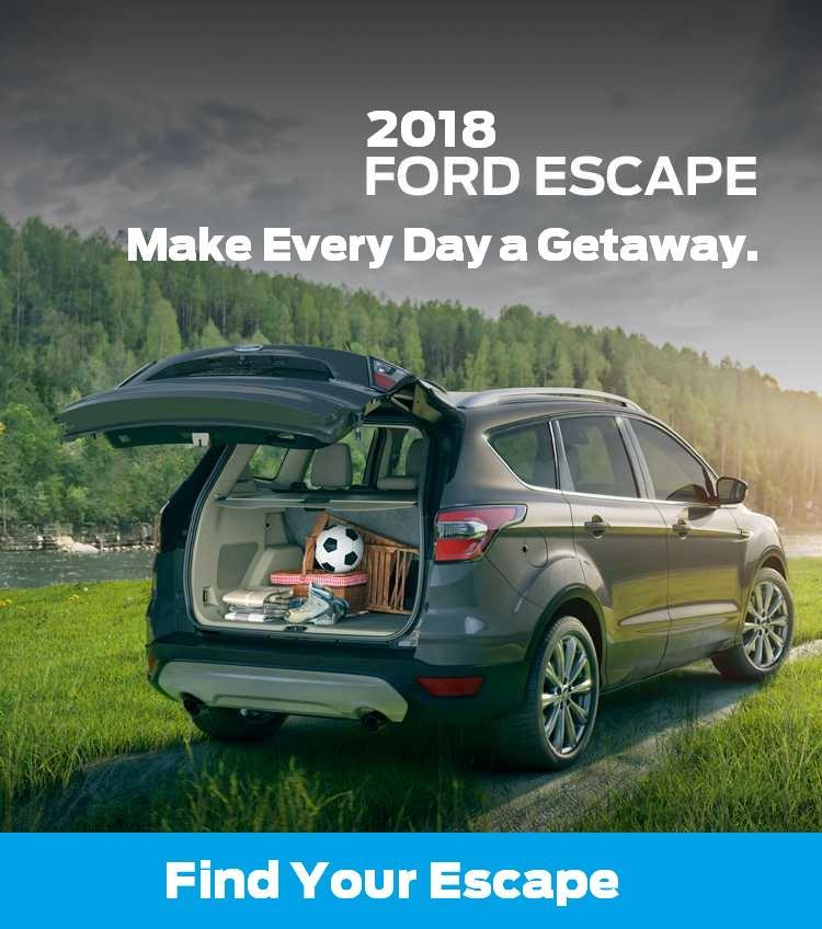 2018 Escape Coastal Ford Burnaby