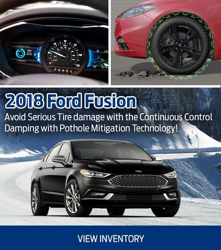 2018 Fusion Coastal Ford Burnaby