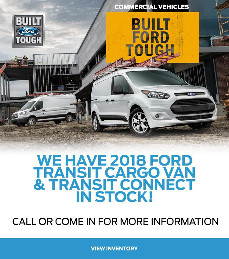 2018 Transit Vehicles Coastal Ford Burnaby