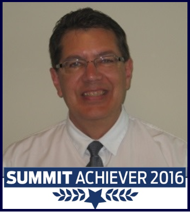Trevor Hutchinson Summit Achiever 2016