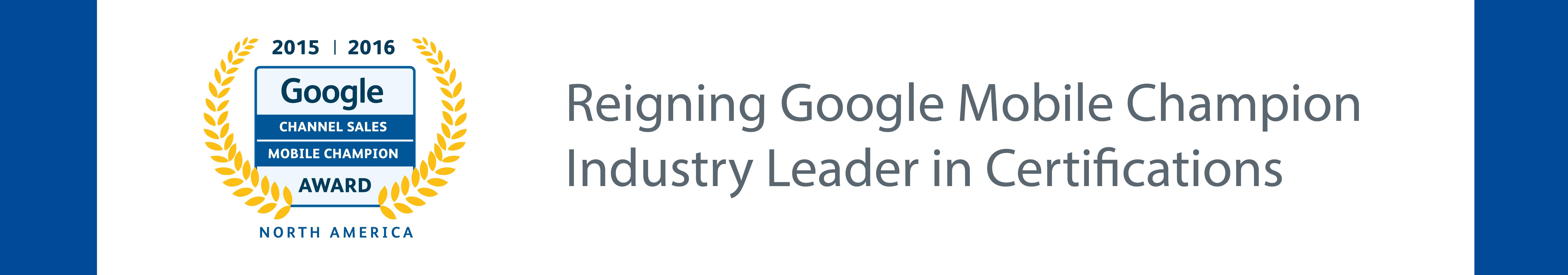 google mobile champion image