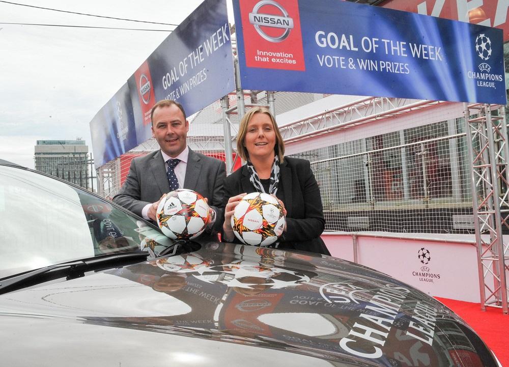 Nissan Champions League Giveaway at Kearys Nissan Motorworld