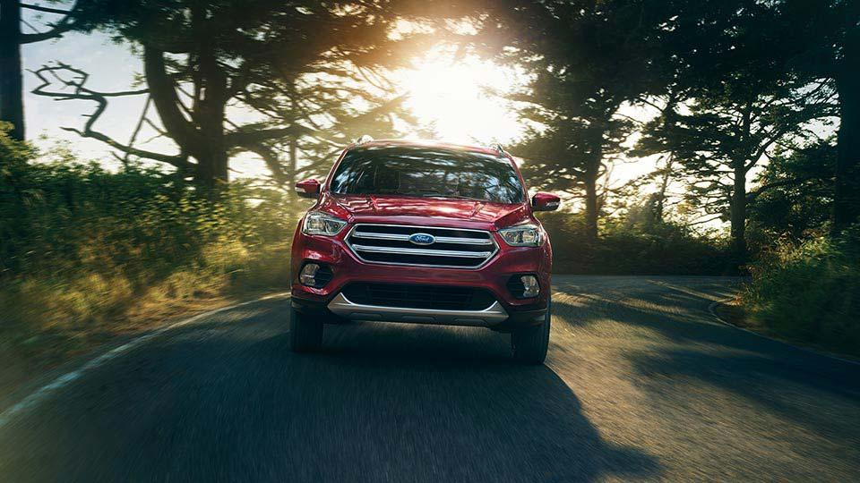 2017 Ford Escape Titanium, Ruby Red