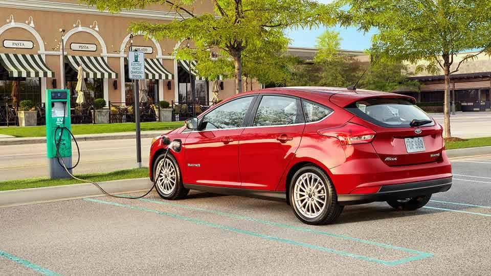 2017 Ford Focus Electric, Ruby Red Metallic