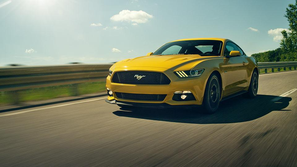 2017 Ford Mustang GT in Triple Yellow Tri-Coat