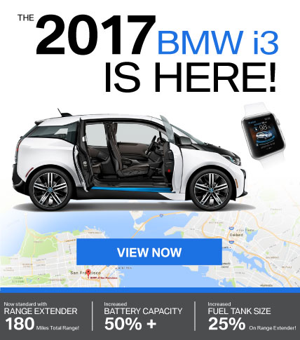 The 2017 BMW i3 is HERE!