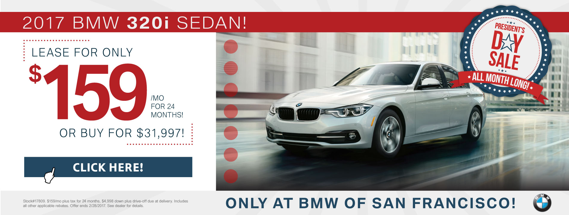 3 Series Lease Offer