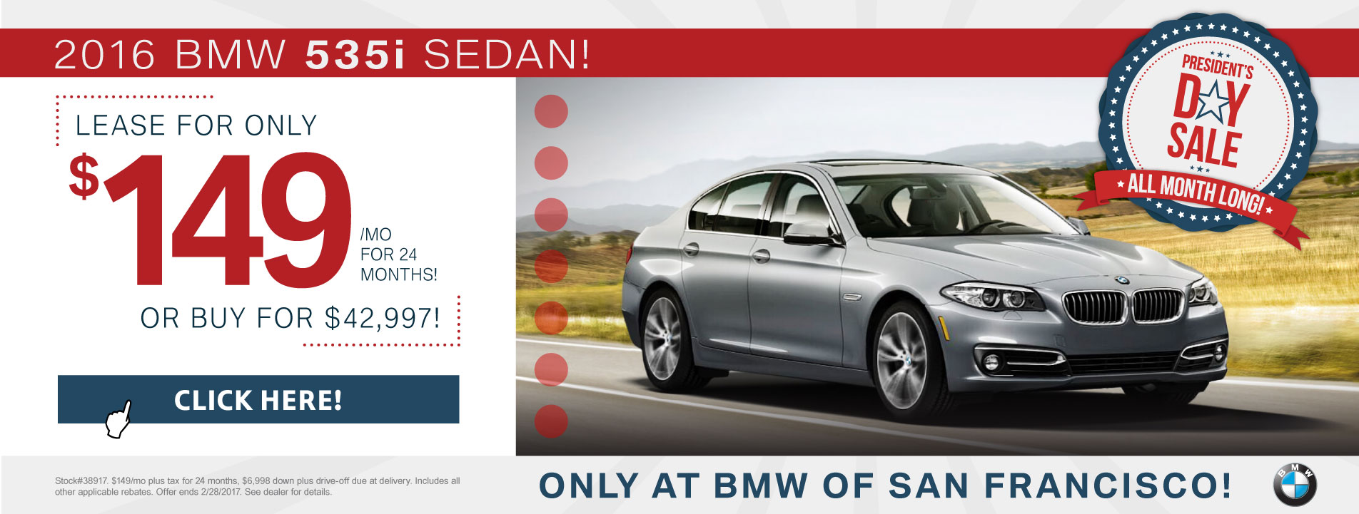 5 Series Lease Offer
