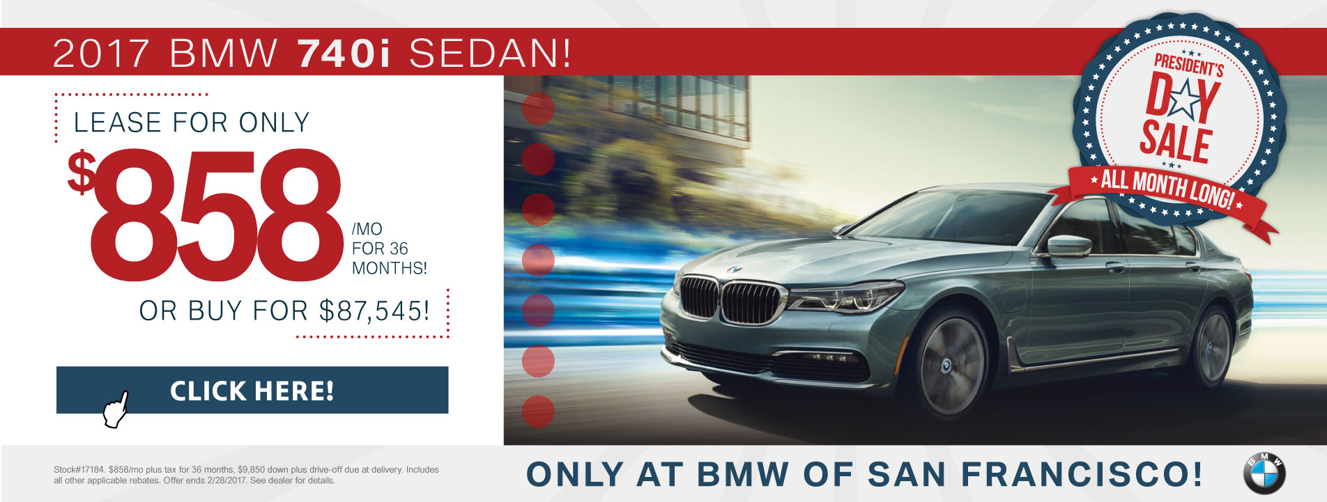7 Series Lease Offer