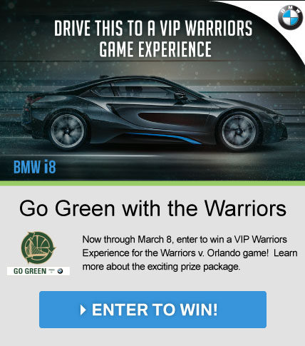 Go Green with the Warriors
