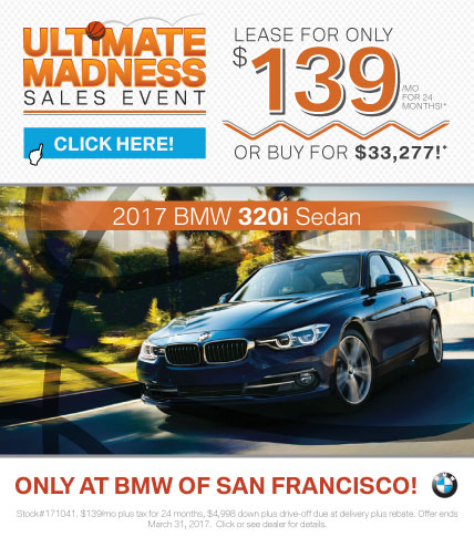 2017 BMW 3 Series 320i Sedan Offer
