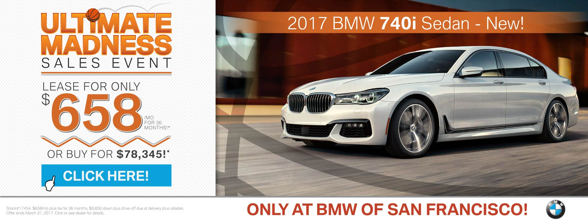2017 BMW 7 Series Offer