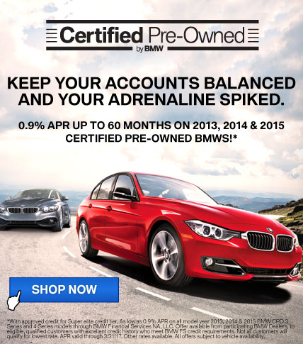 0.9% APR on Select CPO Models
