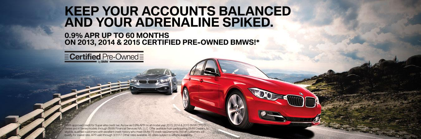 BMW Certified Pre-Owned Offers
