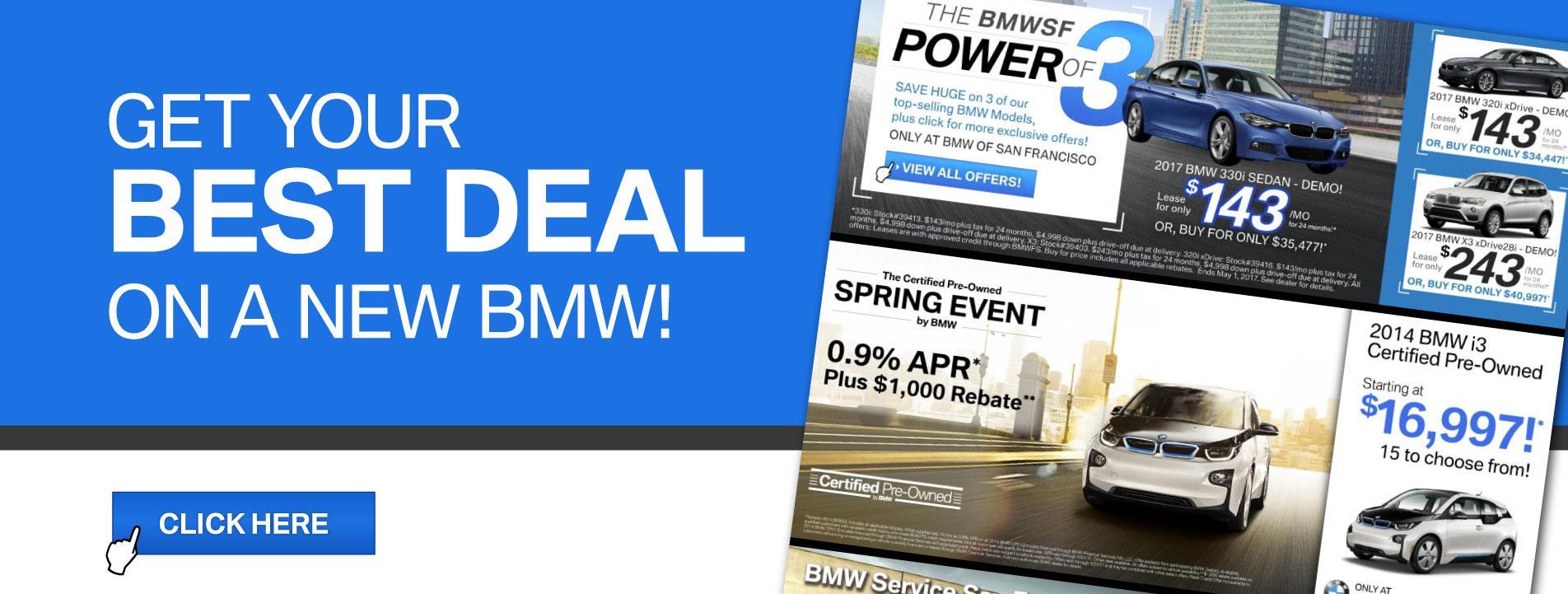 BMWSF Best Deals