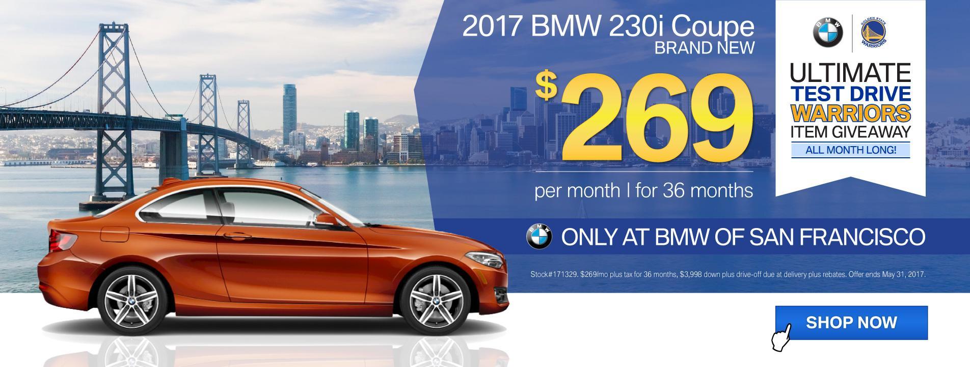 BMWSF 2 Series Offer