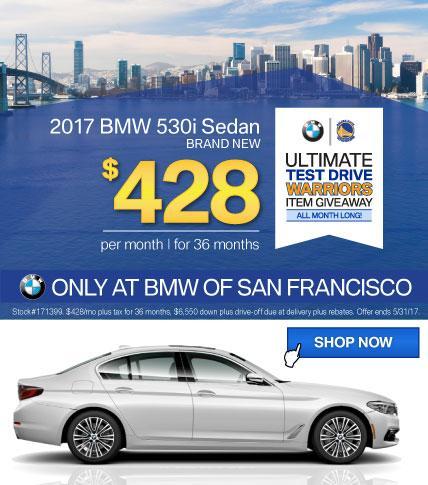 BMWSF 5 Series Offer