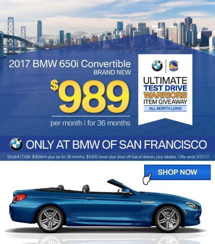 BMWSF 6 Series Offer