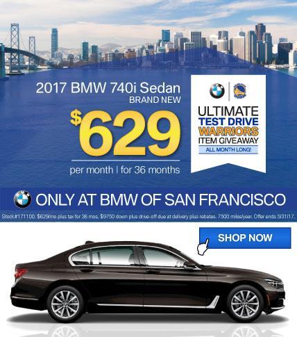 BMWSF 7 Series Offer