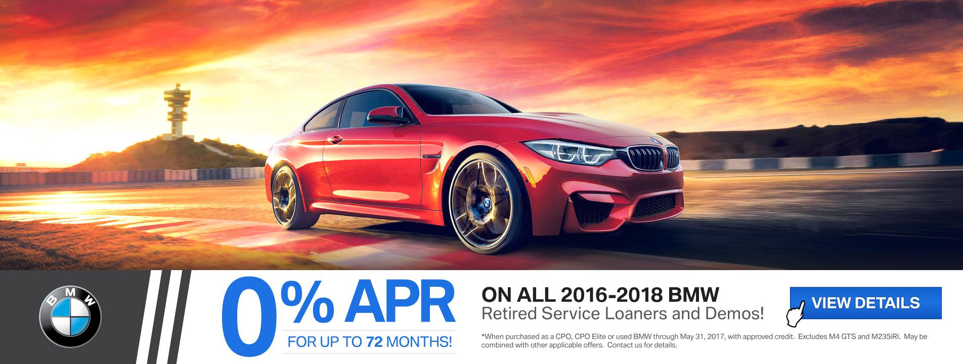 BMWSF Courtesy & Demo Offer