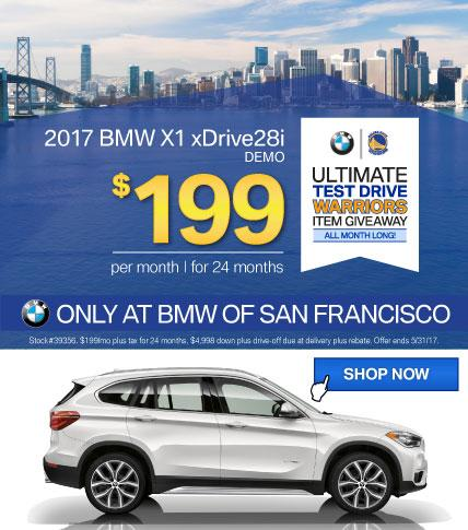 BMWSF X1 Offer