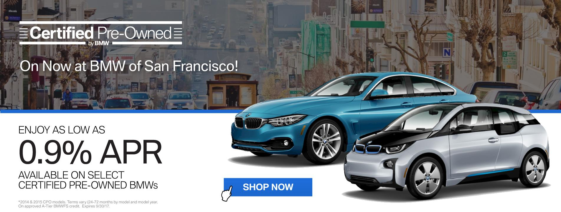 BMWSF CPO Offer