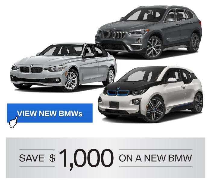Save on a New BMW