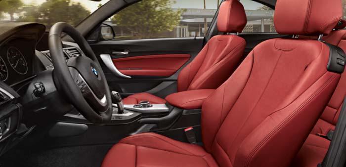 BMW 2 Series Sports Seats