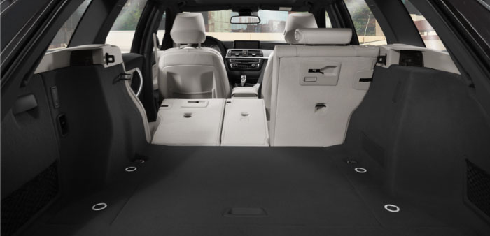 BMW 3 Series Interior Storage Space