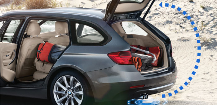BMW 3 Series Hands Free Tailgate