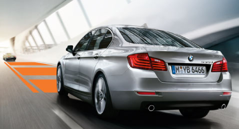 BMW 5 Series Driving Assistants