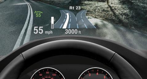 BMW 5 Series Head Up Display