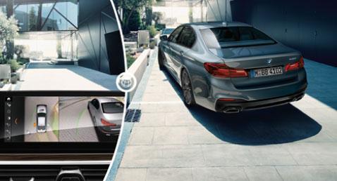 BMW 5 Series Surround View System