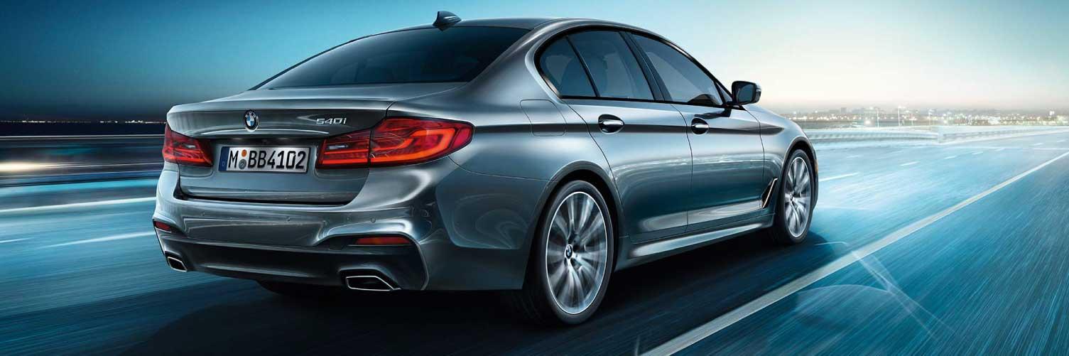 BMW 5 Series Driver Assistants
