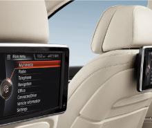 BMW 5 Series Rear Seat Entertainment