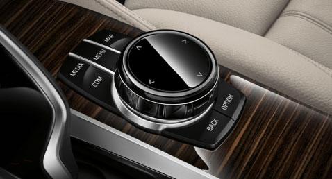 BMW 5 Series iDrive Touchpad