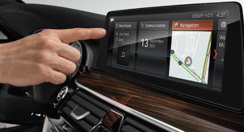 BMW 5 Series Gesture Controls