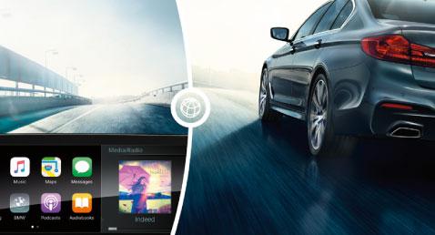 BMW 5 Series Full Smartphone Capabilities