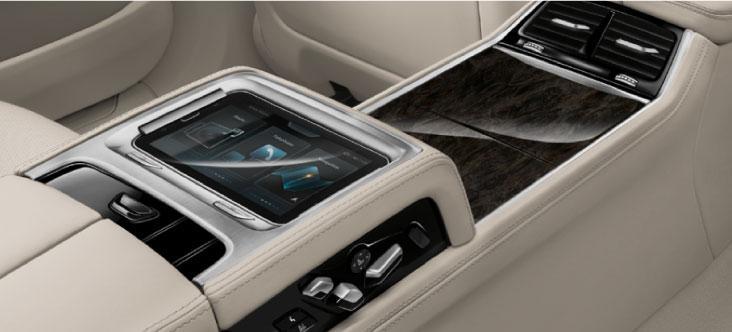 BMW 7 Series Center Controls