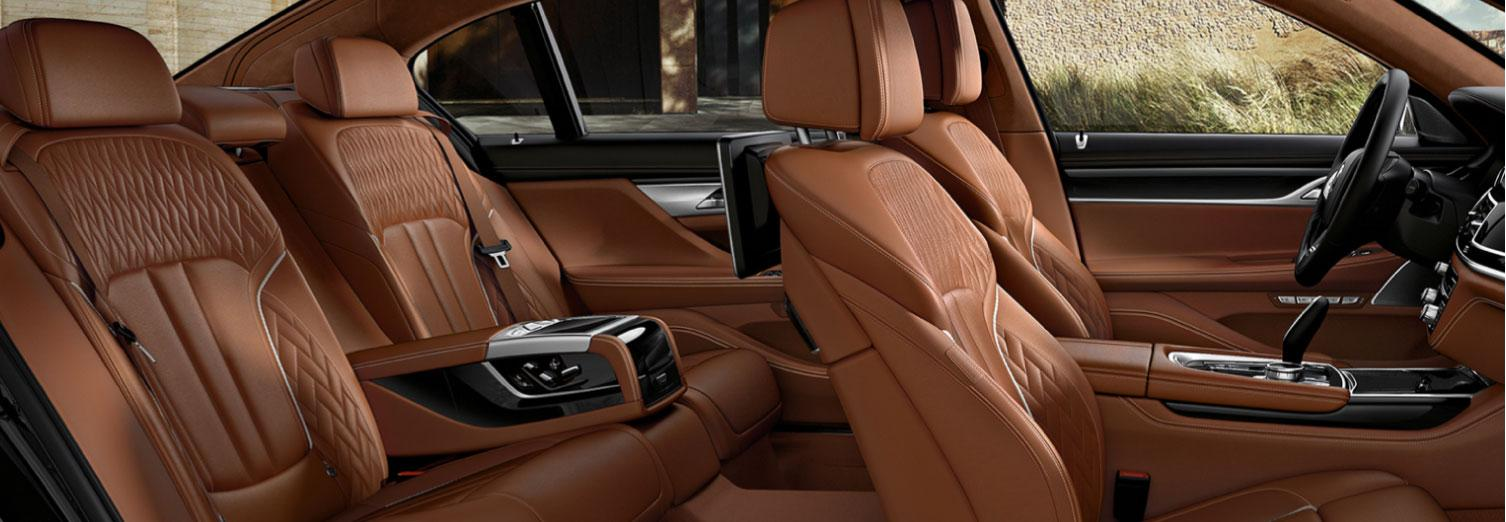 BMW 7 Series Interior Luxury