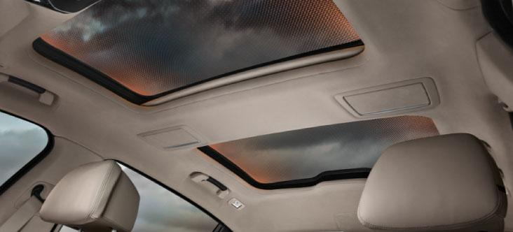 Panoramic Sky Lounge LED Roof