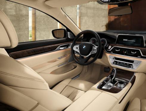 BMW 7 Series Interior Design Package