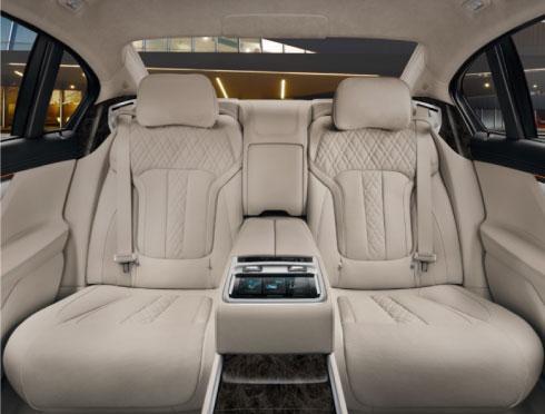 BMW 7 Series Lounge Seating Package