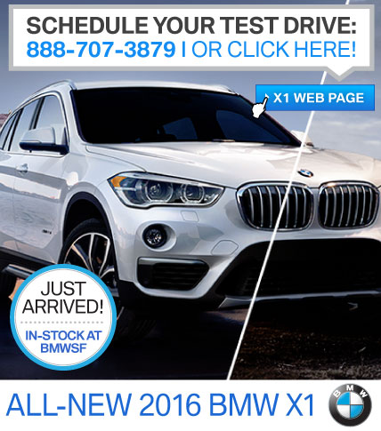 New 2016 BMW X1 | Check it out!