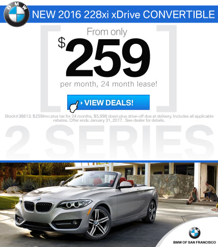 BMW 2 Series Lease Offers