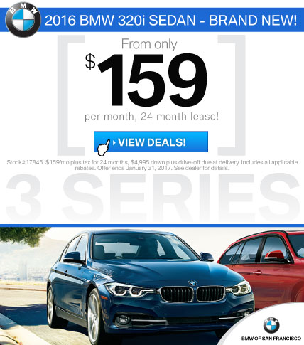 BMW 3 Series Lease Offers