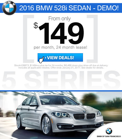 BMW 5 Series Lease Offers