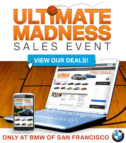 Ultimate Madness BMW Lease Offers at BMWSF